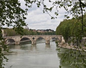 Rome Bridge Print