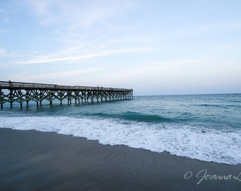 Wrightsville Beach NC Pier - Print, Canvas Gallery Wrapped Print