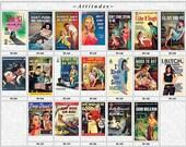 Pulp Fiction Postcards Set of 19 - ATTITUDES