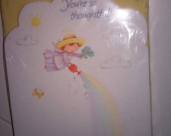 Cute Hallmark Angel Flying All Occasion Notecards
