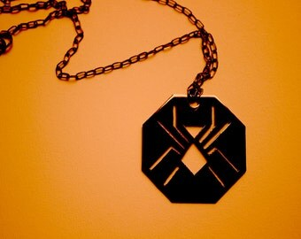 SPIDER WOMAN Jessica Drew inspired necklace - 4 colors available