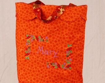 Embroidered Market Bag