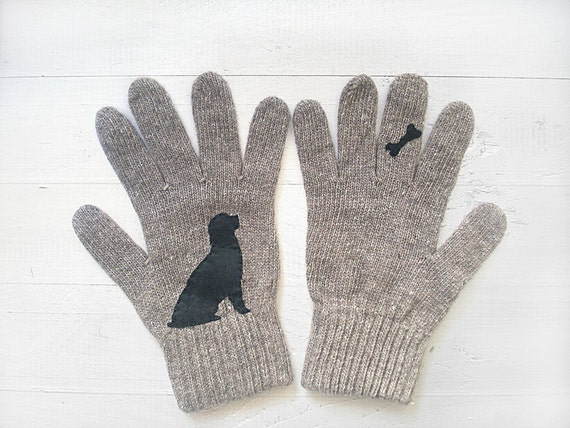 Cute gloves for dog lovers