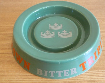 Triple Crown Bitter Ashtray - Advertising Tobacciana