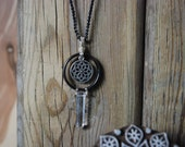Chasing the Mandala Quartz Necklace
