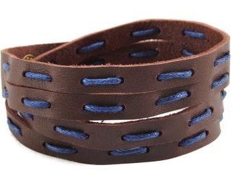 axy Leather wrap bracelet LWIC12A-1!  Leather Bracelet
