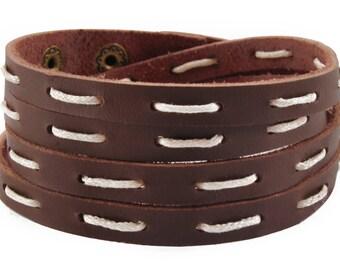 axy Leather wrap bracelet LWIC12A-2!  Leather Bracelet
