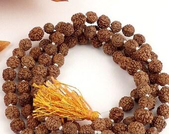 MALA RUDRASKA Buddhist necklace Rosary prayers meditation bm31