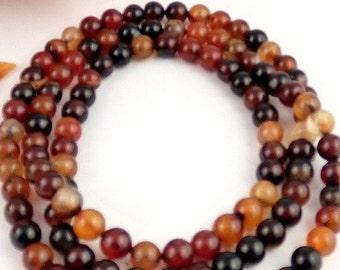 MALA 108 beads agate Buddhist bracelet prayer Rosary prostration bm25