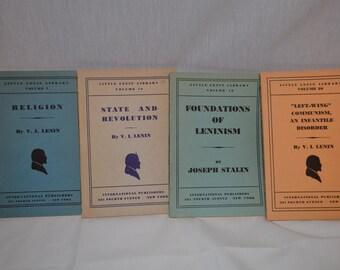 Little Lenin Books - Vintage