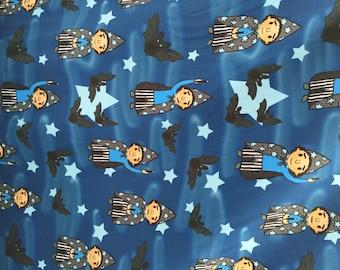 Wizard  -  blue  *Jersey fabric*