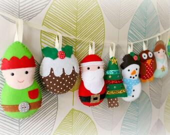 make your own large christmas garland kit