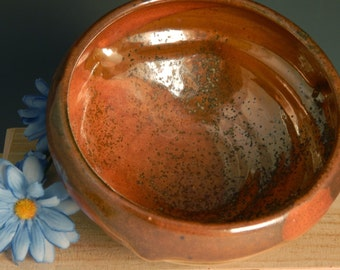 Small Serving Bowl, Soup, Cereal, Stoneware, Ceramic, Thrown on the Potter's Wheel
