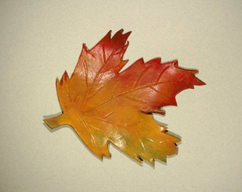 Realistic Handmade Leaf Hair Piece