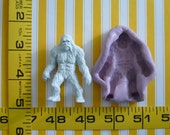 Sasquatch Yeti Big Foot Abominable Snowman 3D Silicone Mold Fondant Chocolate Candy Cupacke Topper Cake Tool Topper Resin Polymer Clay Craft