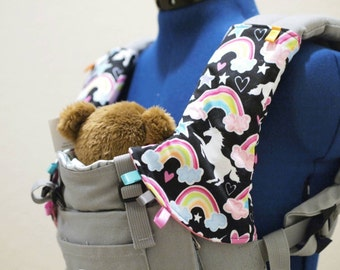 Slow Ride Tula Baby Storage Bag Drool Pads By