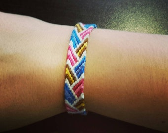 Bracelet Diagonal drawing