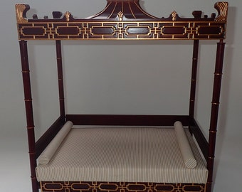 1/6 Scale Chinese Daybed For 12 Inch Or 14 Inch Fashion Doll Such As Barbie Or Fashion Royalty