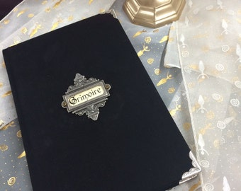 Unique Handmade Book of Shadows Journal