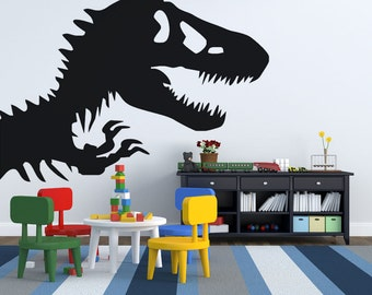 Dinosaur Wall Decal-Dinosaur Wall Decal Art- Dinosaur Room Decor Sticker -Vinyl dinosaur decor -dinosaur decal- dinosaur decal Nursery