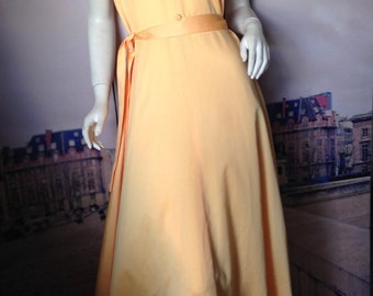 70's Formal / Prom Dress size 14
