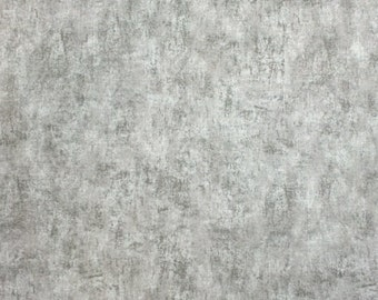 Timeless Treasures CEMENT (GRAY) - 100% Premium Cotton Quilt Fabric - Per 1/2 yd