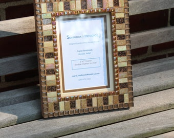 Brown - Mosaic Picture Frame