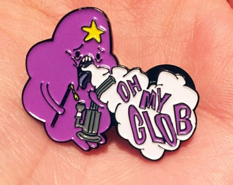 OMGLOB Pin Oil Dab Hash Weed EDM Festival Rave Snapback Hat Lapel Pin