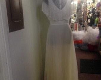1970's Bridal dress