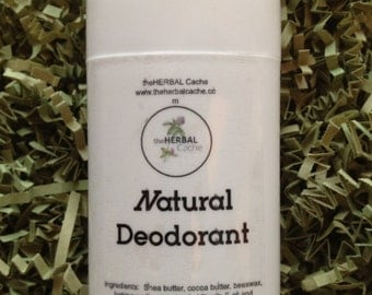 Natural Deodorant | All natural | Personal Care | Deodorant | Herbal
