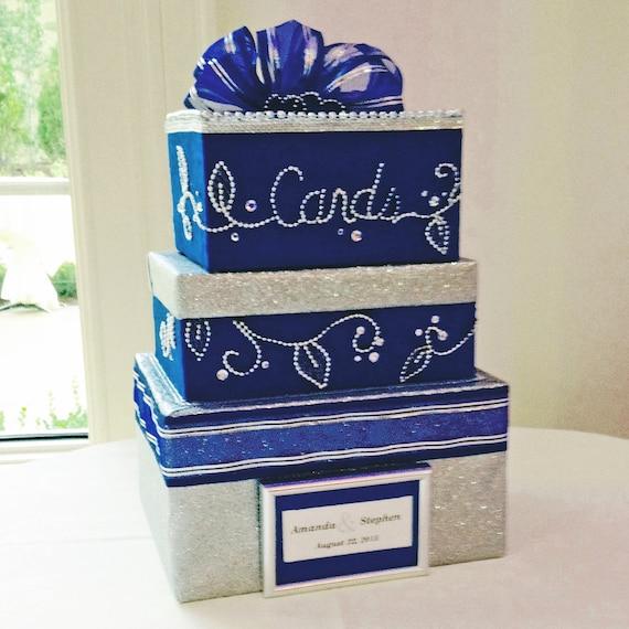 Wedding Gift Deposit Box : Bling Wedding Card Box,boxes for wedding cards,wedding,blue wedding ...