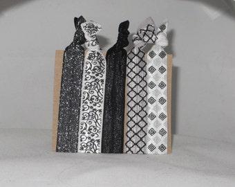 Set of 5 ELEGANT hair tie set