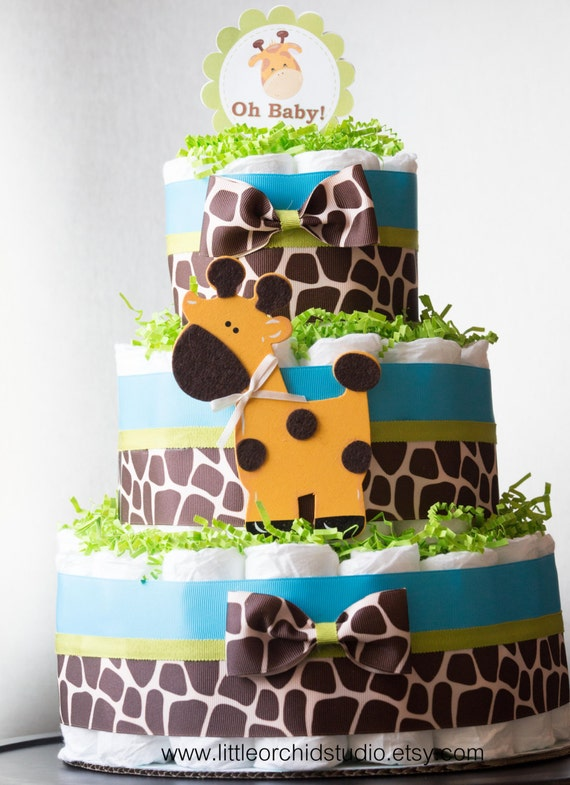 Jungle Themed Baby Gifts Uk : Items similar to safari jungle theme baby shower giraffe