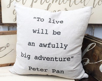 Adventure Pillow Cover