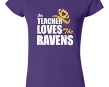 Men's Baltimore Ravens Purple Extra Point T-Shirt