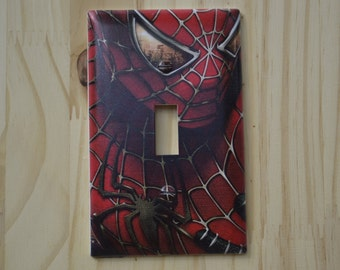 Spiderman Light Switch Cover