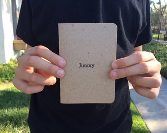 1 Personalized Pocket Notebook