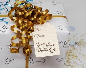 Mature, Funny Gift Tag, Humor Hang Tag, Holiday Gift Tag, Holiday Bag Tag, Gift for Him, Gift for Her, Funny Hang Tag, Holiday Hang Tags