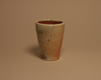Wood fired stoneware cup