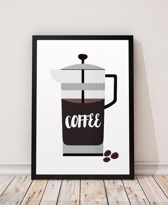 Coffee Prints Kitchen