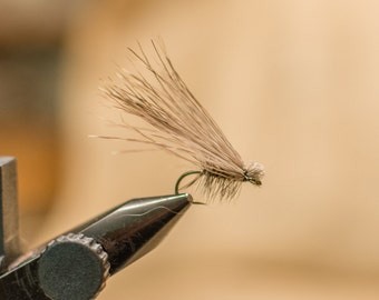 Elk Hair Caddis, Dry Fly for Fly Fishing || Fishing Flies, Fishing Gift, Fishermen's Gift, Fishing Caddis