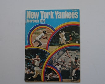 New York Yankees 1970 Yearbook