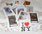 I Love NY Playing Cards for Scrapbooking, Mixed Media, Altered Art, Card Making (L) ok