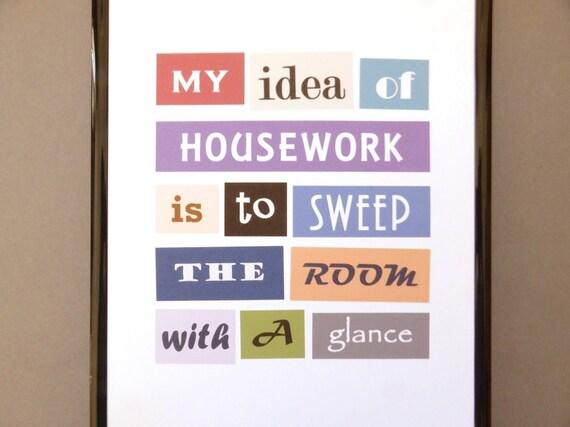funny kitchen home decor wall print my idea of