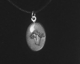 Cilantro Flower Pendant