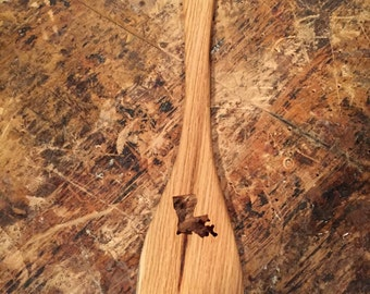 Hardwood roux spoon