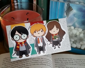 Harry Potter and/or Friends Bookmark Set