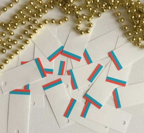 Wedding Gift Tag Lines : Stripes Paper Gift Tags, Blue Line, Red Line, Washi Tape Set, Wedding ...