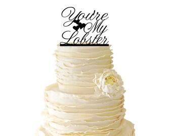 Lobster Wedding Cake Topper Uk