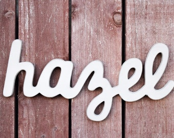 Shabby Chic Baby Name Sign - Nursery Decor - Shabby chic nursery
